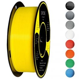 Filament PLA 1.75mm, Eryone PLA Filament 1.75mm, 3D Drucken Filament PLA for 3D Drucker, 1kg 1 Spool, Gelb - 1
