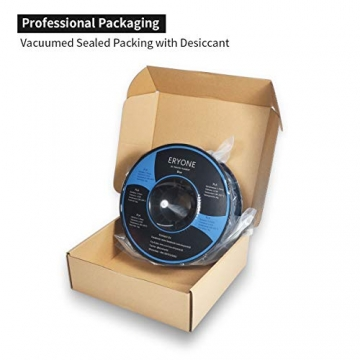 Filament PLA 1.75mm, Eryone PLA Filament 1.75mm, 3D Drucken Filament PLA for 3D Drucker, 1kg 1 Spool, Blau - 7