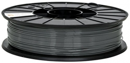Fillamentum 3D Filament - PLA, 750g / 1.75mm - Grau (Metallic Grey), Druck Temperatur 190-210°C - 1