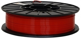 Fillamentum 3D Filament - PLA, 750g / 1.75mm - Rot (Traffic Red), Druck Temperatur 190-210°C - 1
