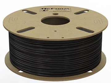 Formfutura 175RPLA-BLCK-1000 3D Printer Filament, Polylactic Acid, Off-Schwarz - 1