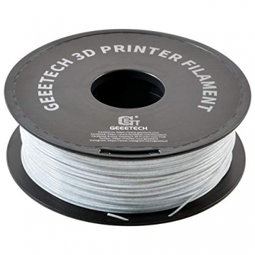 GEEETECH PLA Filament 1.75mm Marble, 3D Drucker PLA Filament 1kg Spool, like Marmor - 2