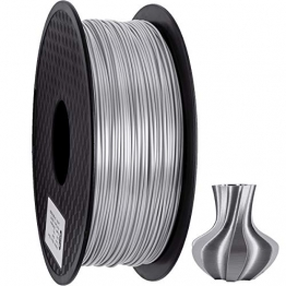 GEEETECH PLA Filament 1.75mm Silk Silber, 3d Drucker printer Filament PLA 1KG Spool - 1