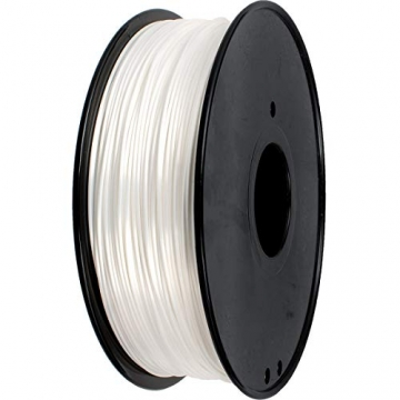 GEEETECH PLA filament 1.75mm Silk Weiß, 3d filament PLA for 3d Drucker 1kg spool - 3