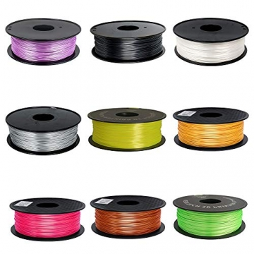 GEEETECH PLA filament 1.75mm Silk Weiß, 3d filament PLA for 3d Drucker 1kg spool - 6