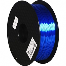 GEEETECH PLA Silk filament 1.75mm, 3D Drucker Filament PLA 1kg Spool (royal blue) - 1