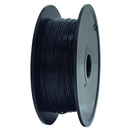 GEEETECH TPU filament 1.75mm Schwarz, Flexible 3D Drucker Filament 400g 1 Spool - 1