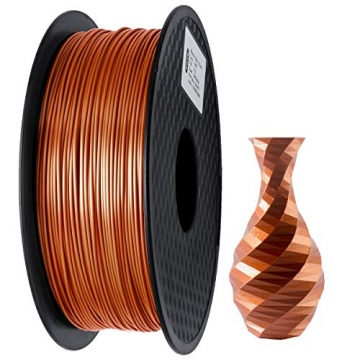 GIANTARM Filament PLA 1.75mm Silk Kupfer,3D Drucker PLA filament 1kg Spool - 1