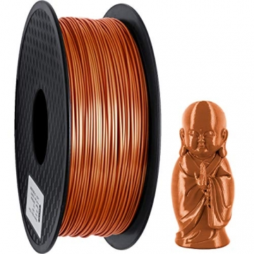 GIANTARM Filament PLA 1.75mm Silk Kupfer,3D Drucker PLA filament 1kg Spool - 5