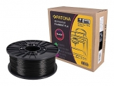 Patona 3D Printer Filament PLA schwarz (Spule / 1Kg / 1,75mm) - 1