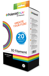Polaroid3D Play 3D Stift PLA Filament 20er Set - 1 Set