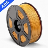 SUNLU 3D Printer Filament ABS, 1.75mm ABS 3D Printer Filament, 3D Printing Filament ABS for 3D Printer, 1kg, Gold - 1