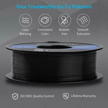 Sunlu Carbon Fiber Pla Filament 1Kg 1.75Mm 3D Printer Filament, Dimensional Accu